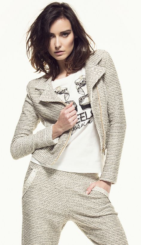 #chic #rock #chanel #jacket