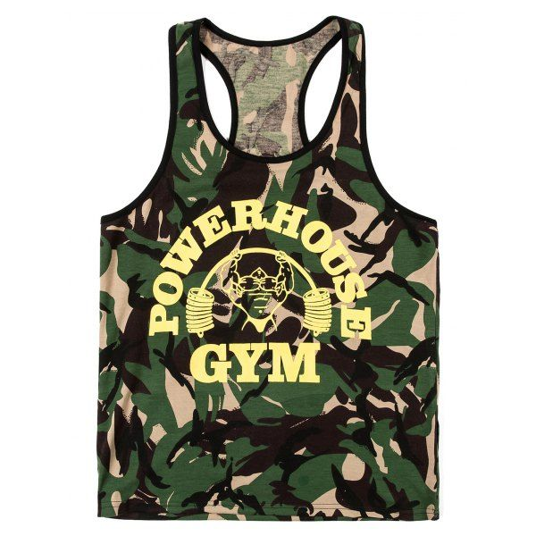 Fashion Camo Men's Tank Top #hats, #watches, #belts, #fashion, #style