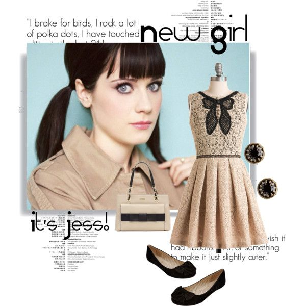 """Jess. New Girl #2"" by kimberella on Polyvore"