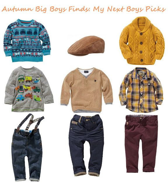 Toddler+Boy+Fashion+Clothes | Autumn Big Boys (3mths - 6yrs) Fashion: My Next Picks