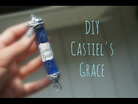 DIY Castiel's Grace (from Supernatural) - YouTube