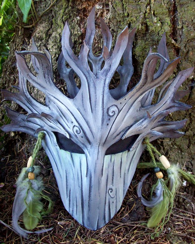 Savage Dryad Mask by ~savagedryad on deviantART