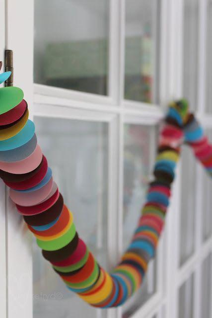 Lykkefryd: {gjør det selv} fargerik pynt til fest og bursdag