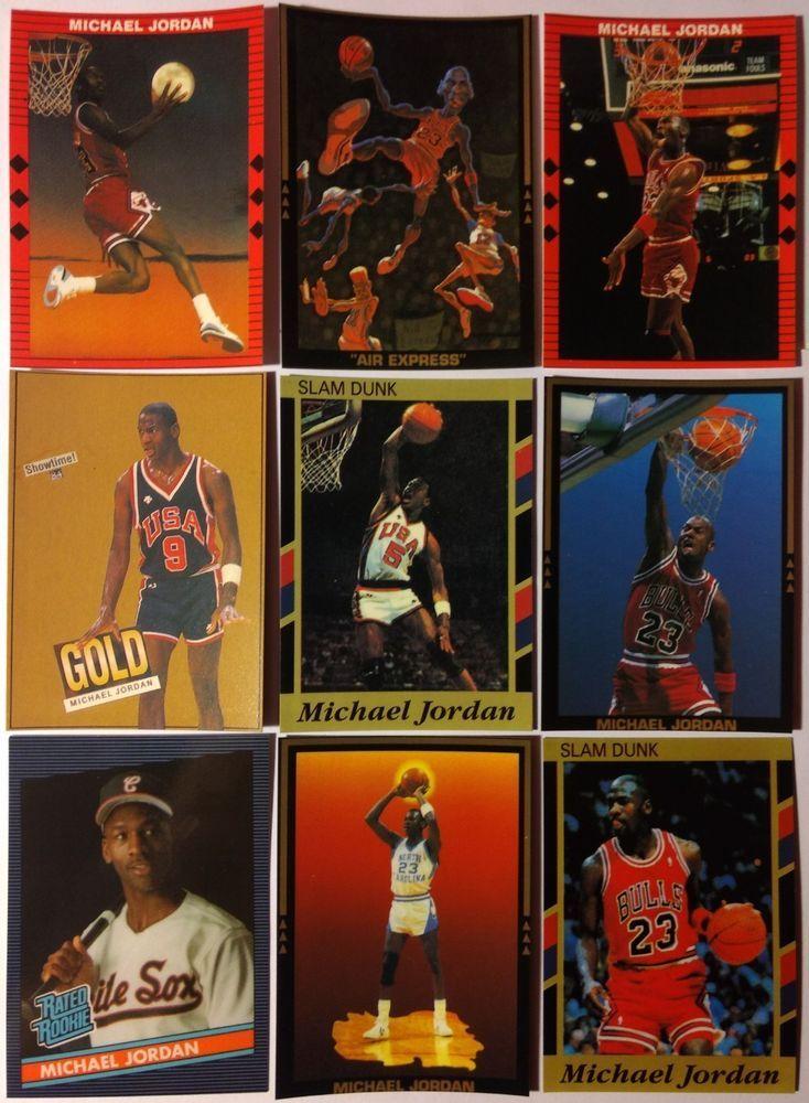 3846fbd39aed Michael Jordan Lot of 7! Rare! Rookie Promos