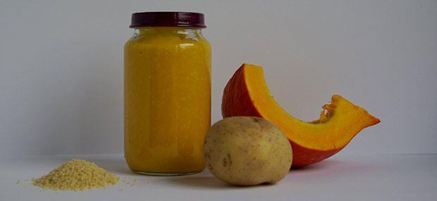 Babybrei - Kürbis-Kartoffelbrei mit Couscous