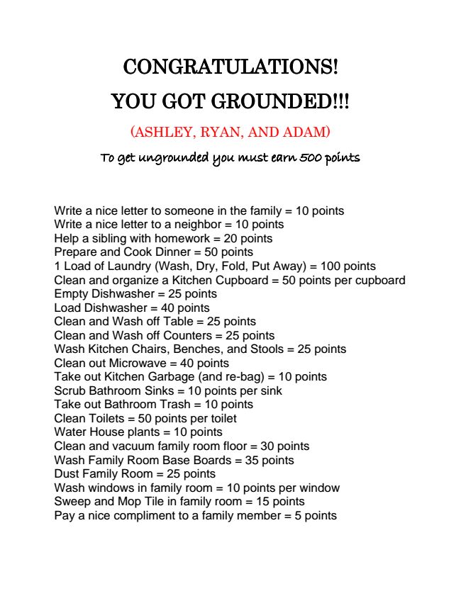Congrats you're grounded: Good Ideas, Kids Stuff, Future, Unground, Children, Baby, Great Ideas, Families, Kiddo