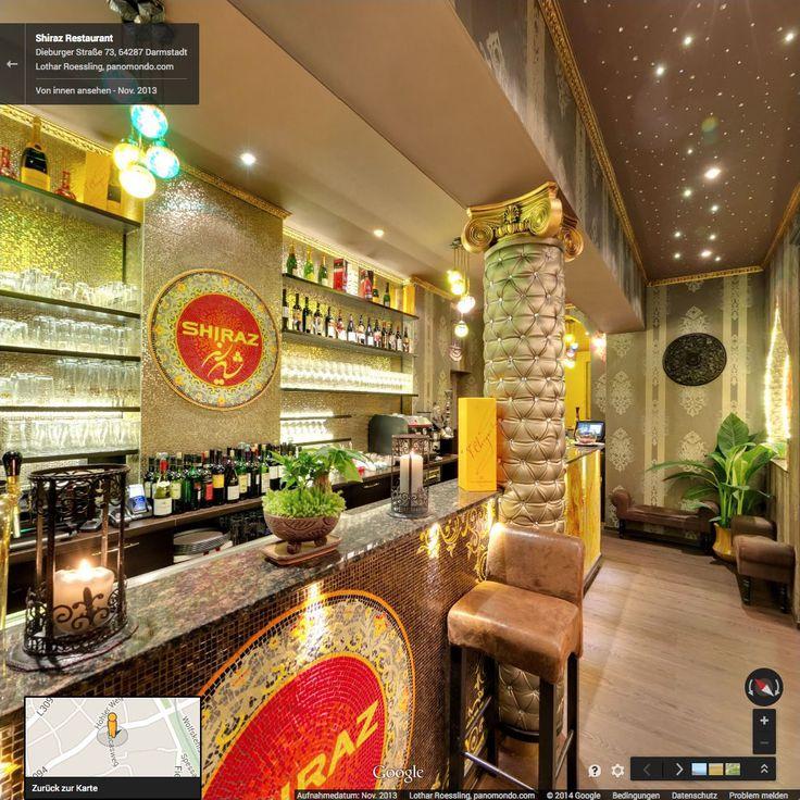 Google Street View Innenansicht // Shiraz Restaurant Darmstadt - November 2013 #StreetViewTrusted #GoogleStreetView  www.panomondo.com