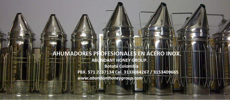 Equipos para apicultura, ahumadores profesionales