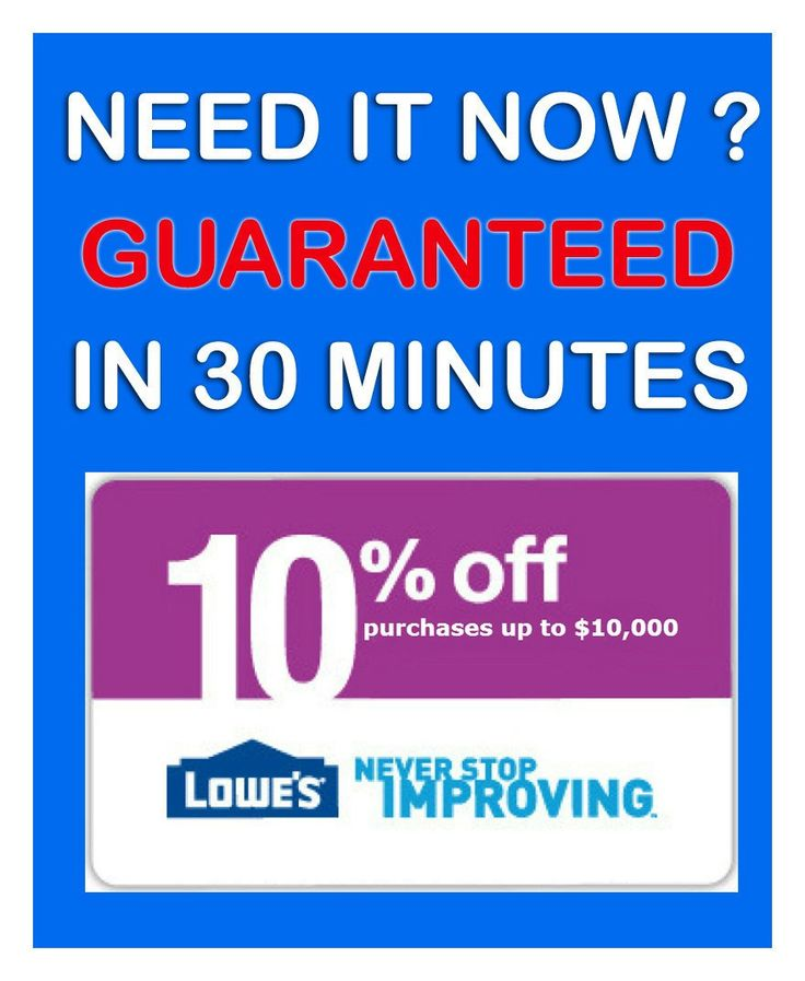image regarding Lowes 10% Printable Coupon referred to as Relocating coupon codes lowes / Berlin town nissan discount codes