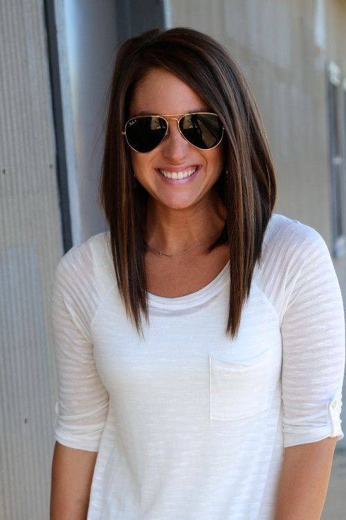 Awe Inspiring 1000 Ideas About Long Angled Bobs On Pinterest Longer Angled Hairstyle Inspiration Daily Dogsangcom