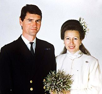 Princess Anne And Timothy Laurence Of Which Was S Second Marriage On December