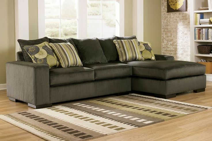 Ashley Freemont Pewter Sectional Sectionals Raleigh Furniture Home Comfort Furniture