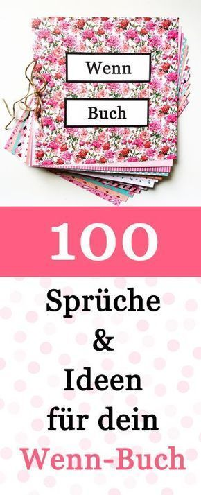 100 Wenn Buch Sprüche und Ideen