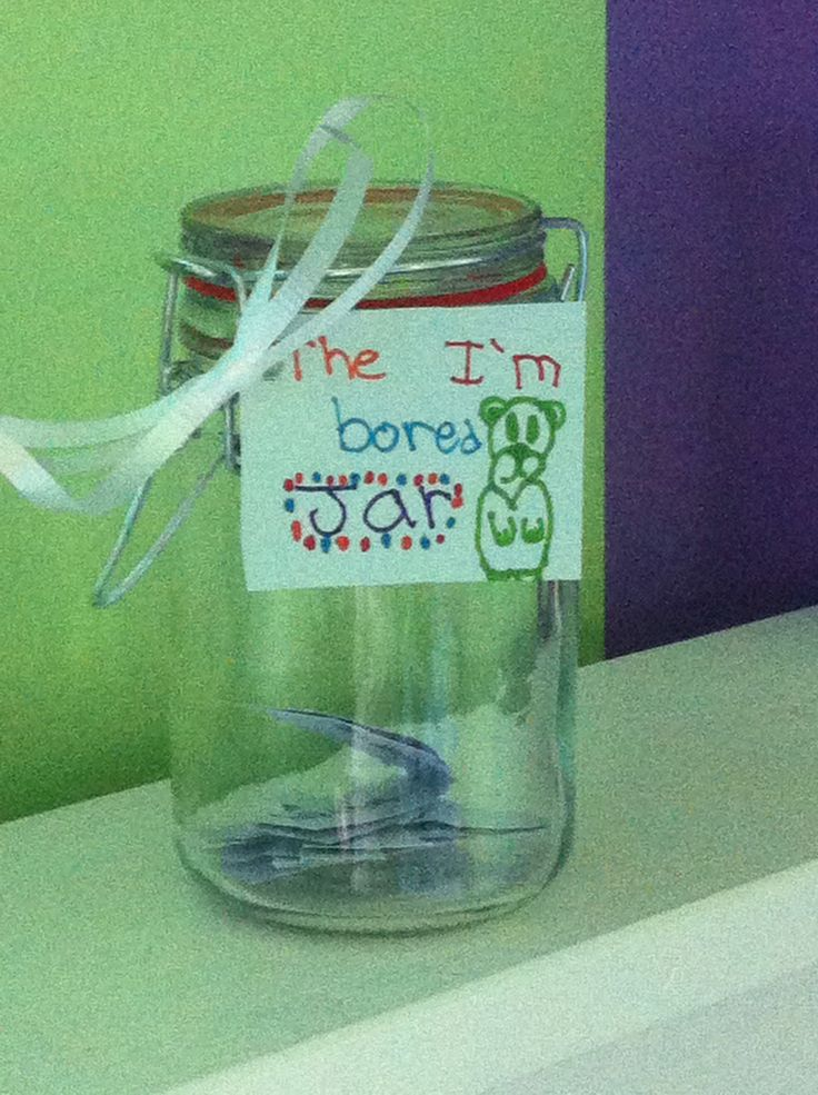 Homemade bored jar