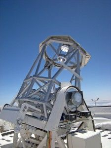 New solar telescope Gregor, in Canary Islands, the most big from Europe and 3rd. in the world.