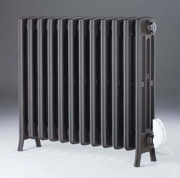 Electric Etonian   cast iron radiator in an electric version. 21 best Electric Radiators and Towel Rails images on Pinterest