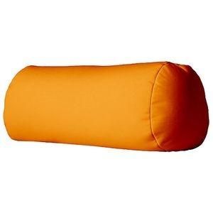 bigbao - le poloch' orange - coussin hyper-moelleux 30x18cm