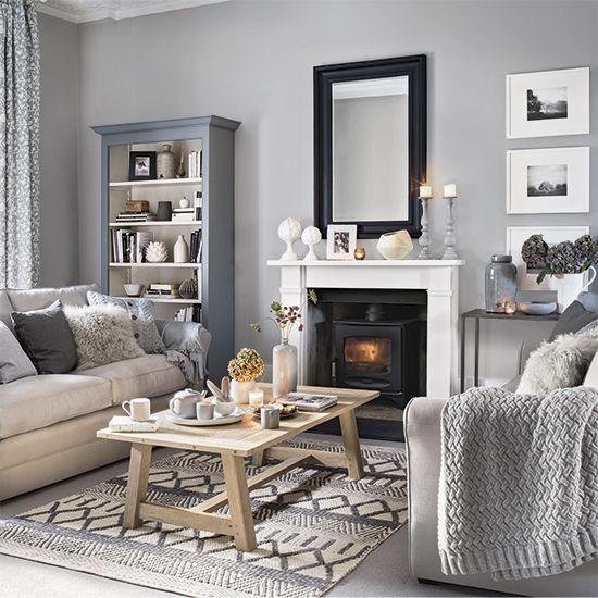 Grey living room ideas – Grey living room furniture – Grey and mustard emine erturk