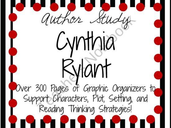 Cynthia Rylant: Books & Quotes | Study.com