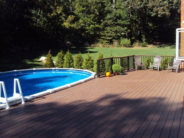 above ground pools decks idea pool deck project 1 pool pinterest swimming pool decks pool backyard and above ground swimming pools