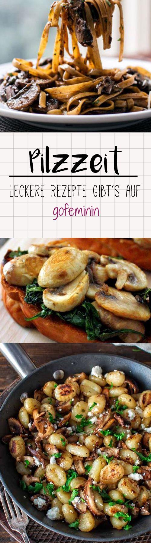 Pilze sorgen für ordentlich Abwechslung auf dem Speiseplan. Wir haben für alle Pilzliebhaber die geschmackvollsten Gerichte der Saison zusammengestellt.