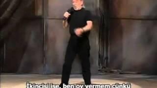 George Carlin don't vote Türkçe altyazı