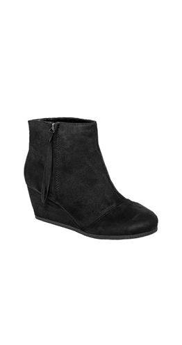 The Wedge of Night Bootie