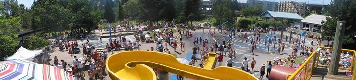 WaterPark on Granville Island | False Creek Community Centre on Granville Island-Vancouver | Water Park