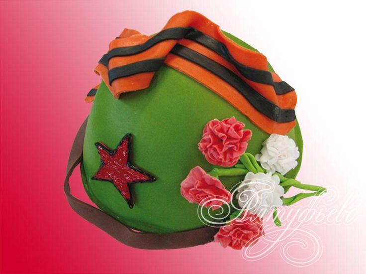 Подарочный торт каска № 228