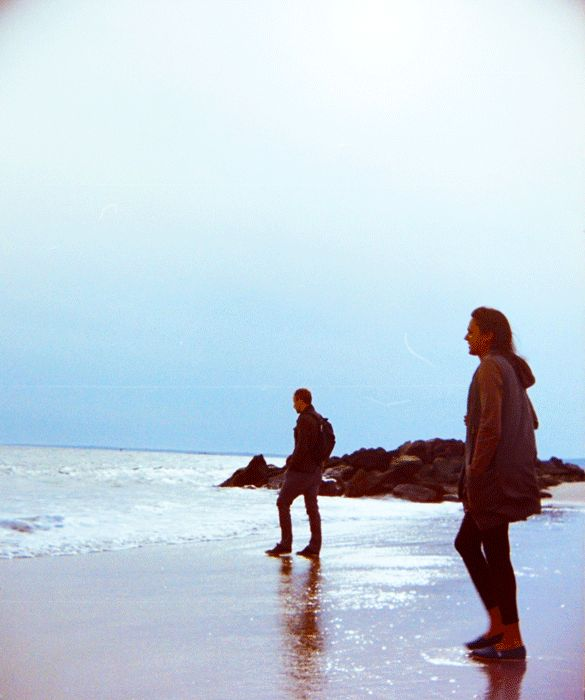 me and my fianced at Coney Island via 3D Gifs #2 - Josh Ethan Johnson