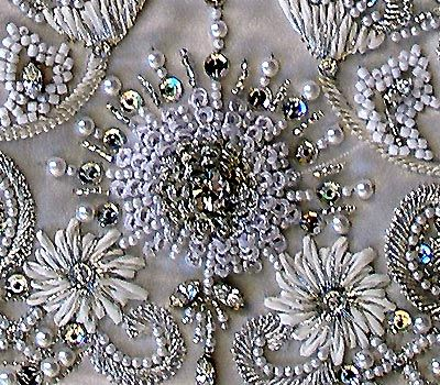 mandala and paisley embroidery and beaded borders - Google Search