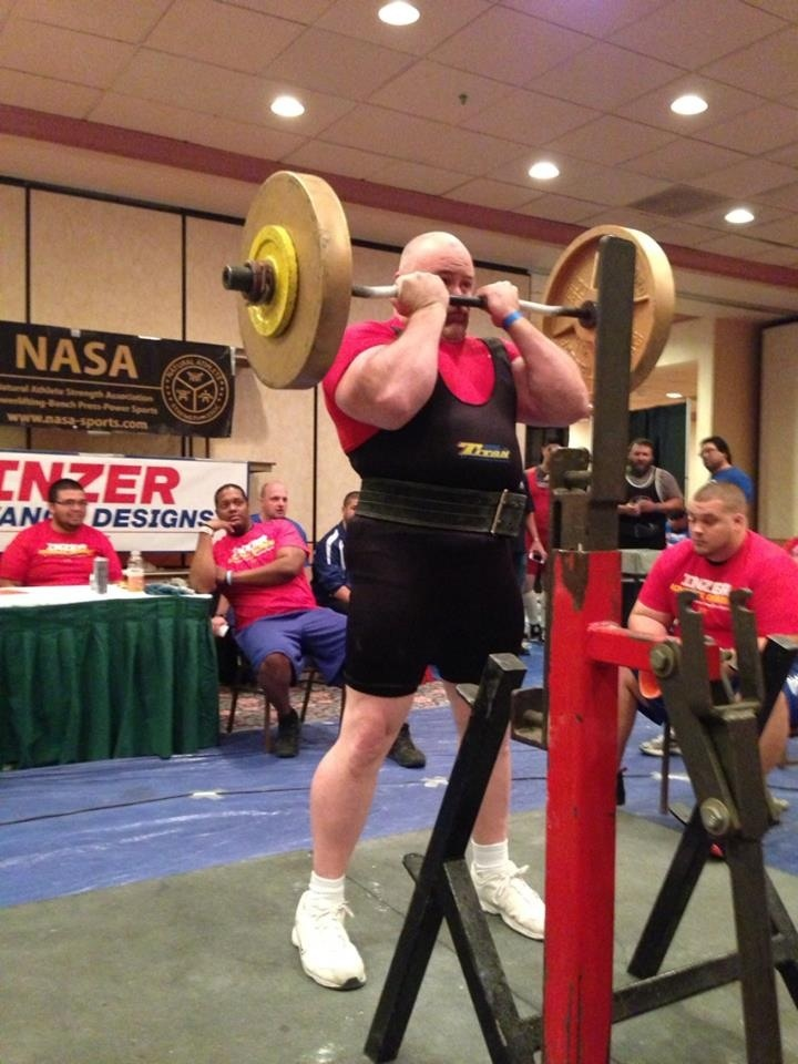 USA Nationals  NASA  Powerlifting-Can't wait until the meet in October