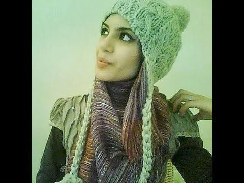 Hijab Style/Tutorial for Hats and Caps