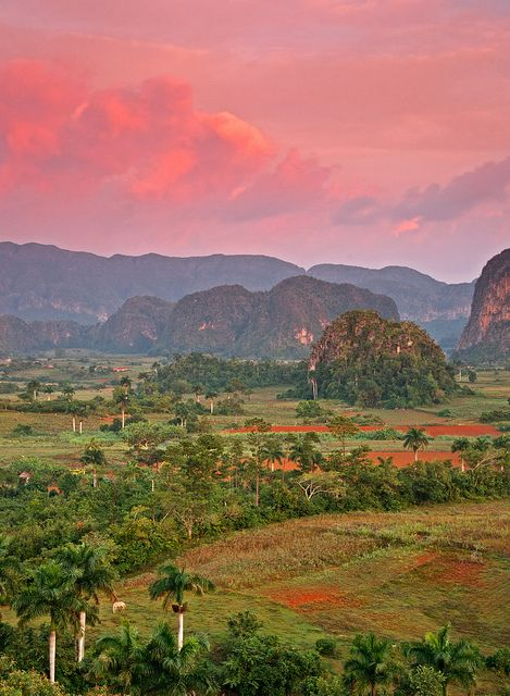 Viñales Valley, morning, Cuba