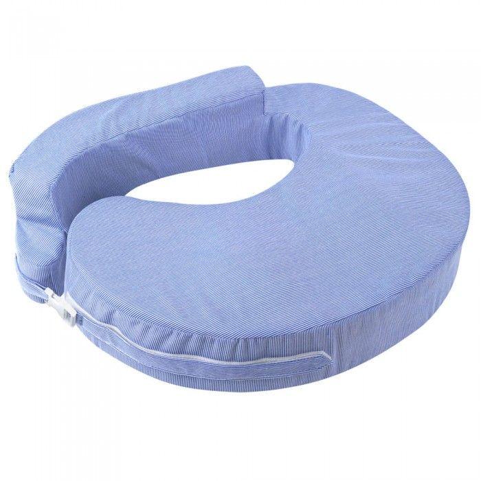 Baby Breast Feeding Support Memory Foam Pillow - Blue