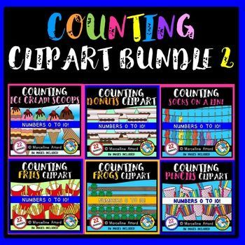 ★ #COUNTING #CLIPART #BUNDLE★: 6 SETS OF COUNTING: #NUMBERS 0 TO #10 #COUNTING INCLUDES 6 SETS OF COUNTING IMAGES FROM 0 TO 10: COUNTING #ICE #CREAM #SCOOPS CLIPART, COUNTING #DONUTS CLIPART, COUNTING #SOCKS ON A #WASHING #LINE CLIPART, COUNTING #FRENCH #FRIES CLIPART, COUNTING #FROGS ON A #LOG CLIPART AND COUNTING #PENCILS CLIPART