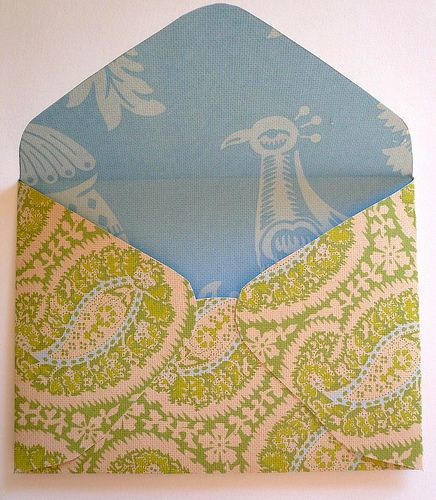 Homemade envelope.Homemade Envelopes, Crafts Ideas, Envelopes Tutorials, Craftastic Envelopes, Crafty Envelopes, Crafts Tips Fun Fav, Diy Envelopes, Paper Crafts, Handmade Envelopes