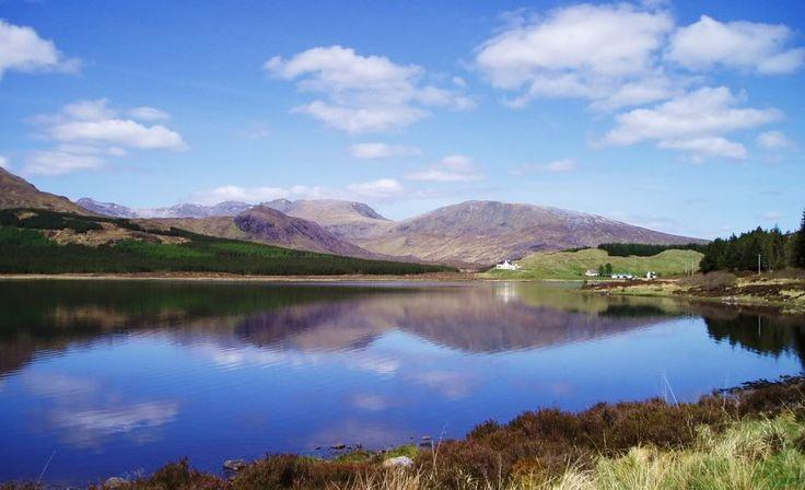 Loch Ailsh - Permits from Oykel Bridge Hotel, 01549 441218