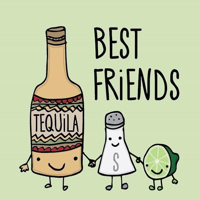 fuckmeplz1313: #Tumblr #Tequila #BestFriends