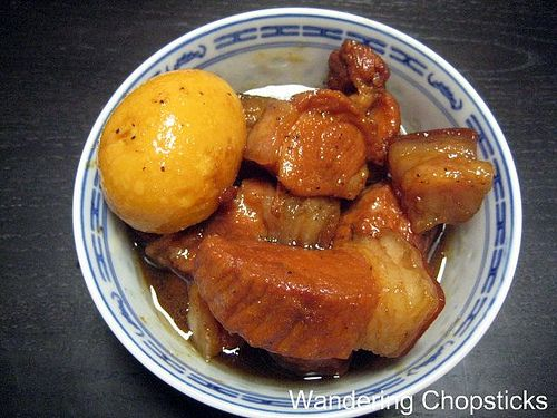 Thit Heo Kho Trung.  My mom taught me how to make this and it rules (and you won't find it in Viet restaurants).