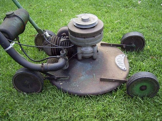 Vintage international riding lawn mowers