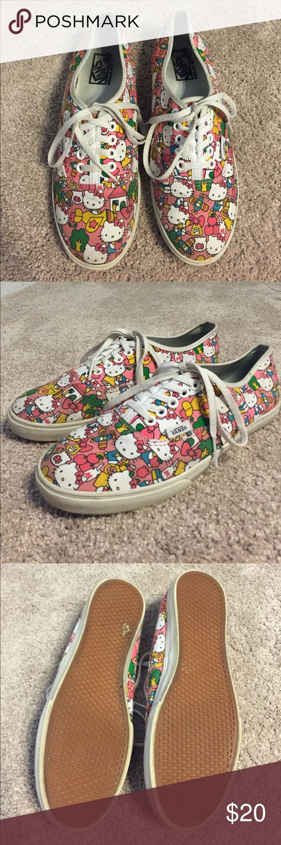 Hello Kitty Vans Pink Great condition only worn a couple of times Hello Kitty Vans. Ask me if you have any questions! Vans Shoes Sneakers