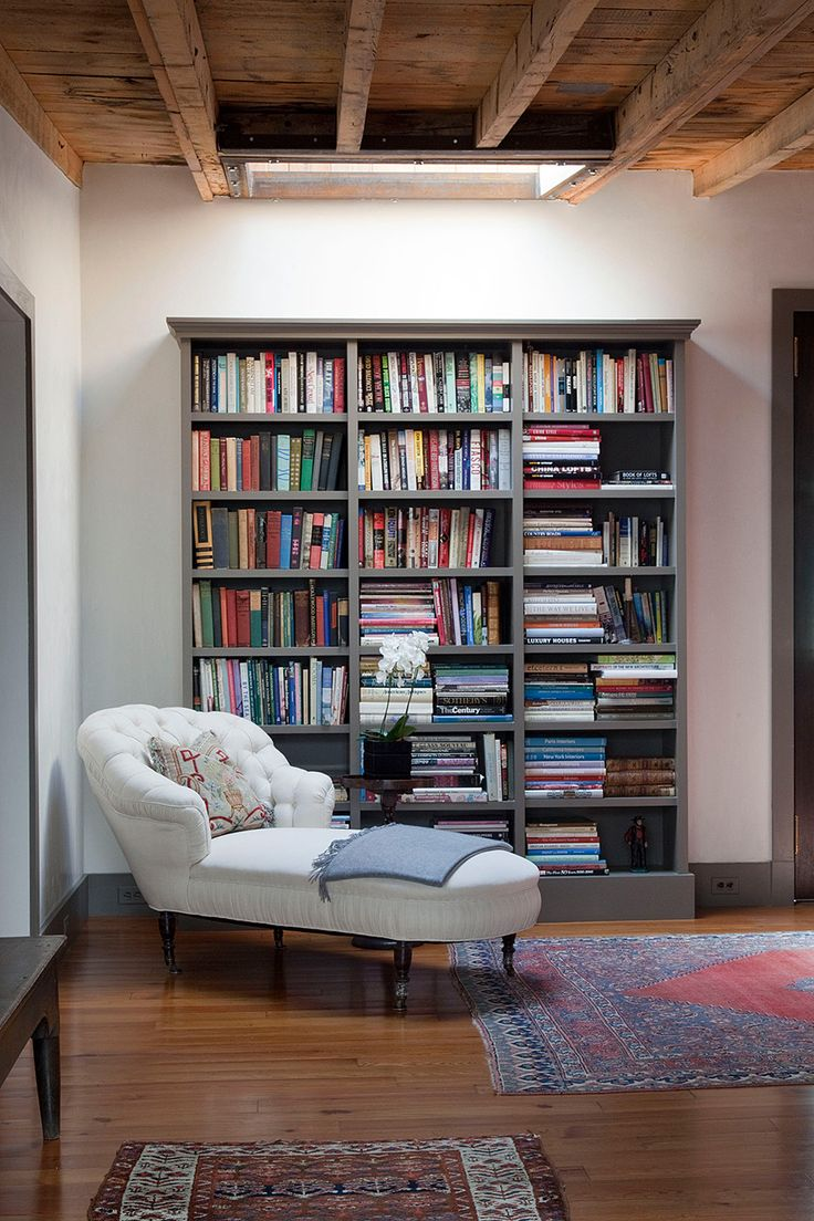 Small but lovely space with books