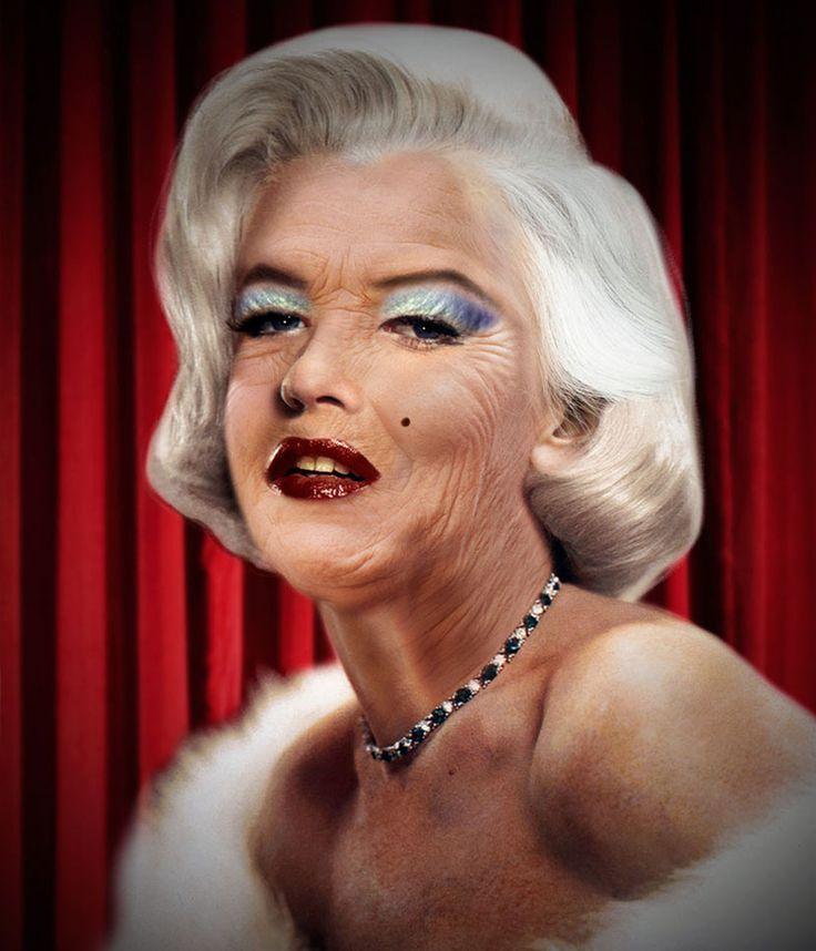 Sara Zaher especula cómo luciría el rostro de algunas celebridades si no hubiesen muerto jóvenes