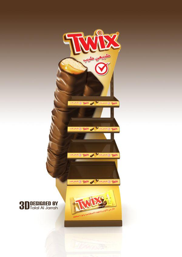 TWIX Stand on Behance