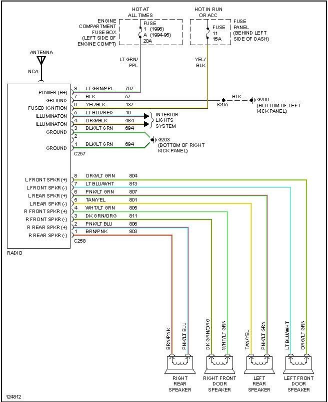 Ford Car Radio Wire Diagrams Sys Wiring Diagrams in 2020 ...