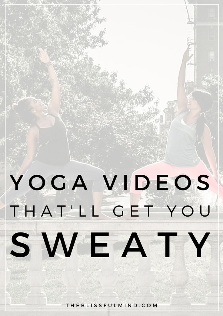 Do you ever feel like you're not getting much of a workout from doing yoga? Here are some 30-minute yoga videos that'll burn calories and actually get you sweaty!