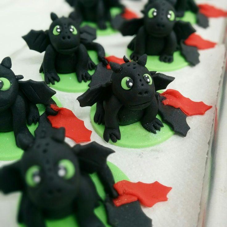 Cupcakes como domar Seu Dragão