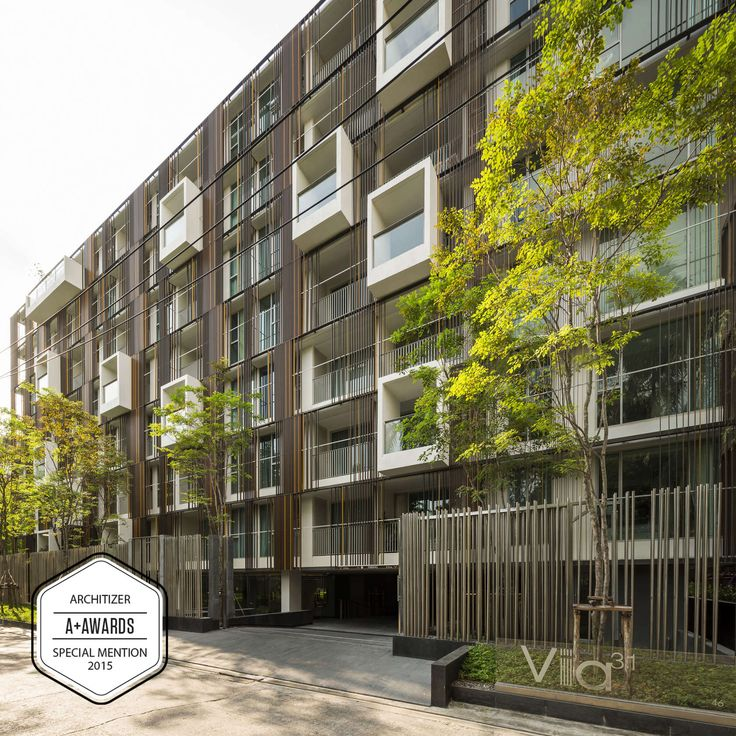 SPECIAL MENTION A+AWARDS 2015  Via31 is a housing project that takes place in Sukhumvit, the most prime residential area of Bangkok. The site is located with...