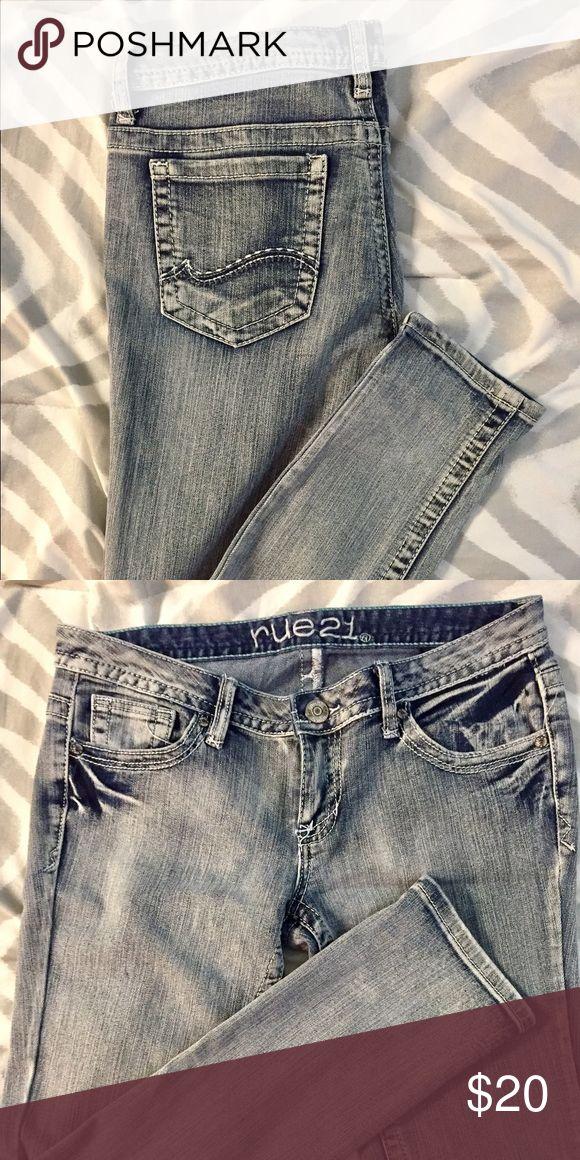 Rue 21 Light Blue Skinny Jeans Size 3/4 low rise skinny jeans Rue 21 Jeans Skinny